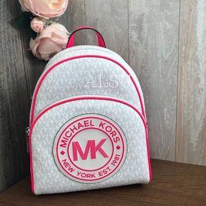 Michael Kors Fulton Sport Med Backpack Neon Pink W